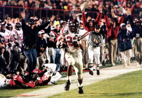 1999 - Deuce McAllister - University of Mississippi