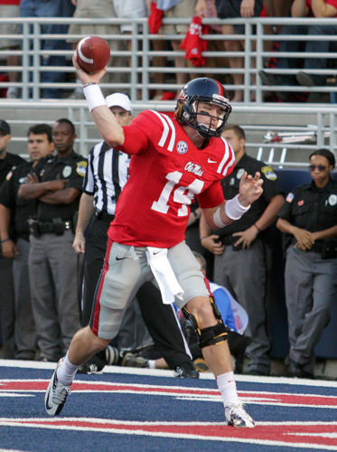 2012 -  Bo Wallace - University of Mississippi