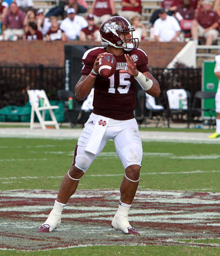 2014 and 2015 - Dak Prescott - Mississippi State University