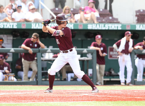 2016 - Jake Mangum - Mississippi State University